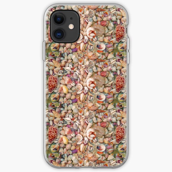 A Rainbow of Shells iPhone Soft Case