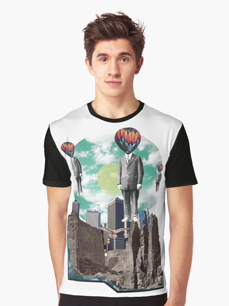 The Great Escape Graphic T-Shirt Front