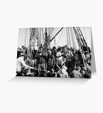 Group Pirate-ing  Greeting Card