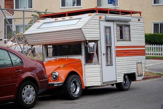VW. Camper by Barry Elkins