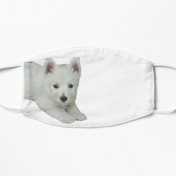 West Highland White Terrier Puppy 2 Flat Mask