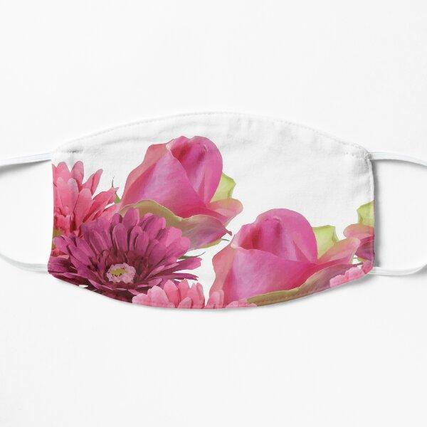 Pink Roses and Gerbera  Mask