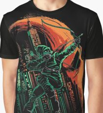 Green Vigilance Graphic T-Shirt