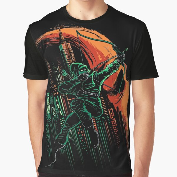 Green Vigilance Graphic T-Shirt