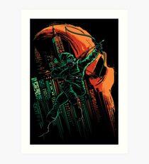 Green Vigilance Art Print
