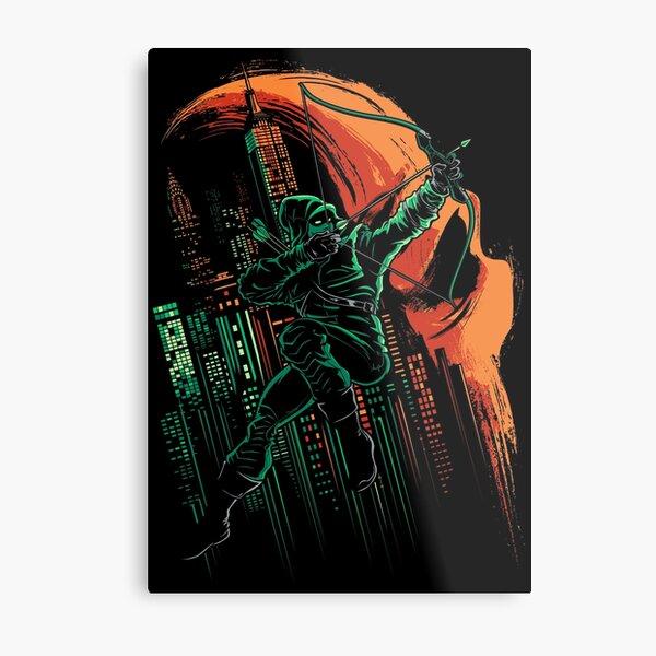 Green Vigilance Metal Print