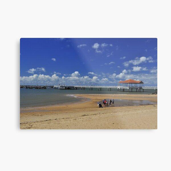 Redcliffe Pier Metal Print