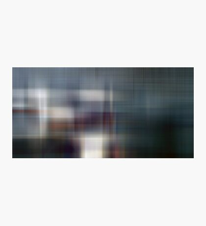 Cross Blur Photographic Print