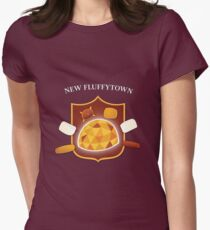 New Fluffytown | Community Women's Fitted T-Shirt