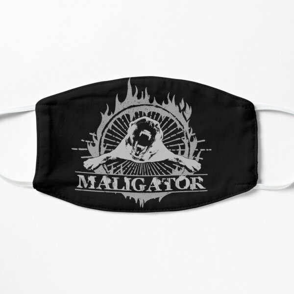 Malinois- Belgian shepherd - Maligator  Mask