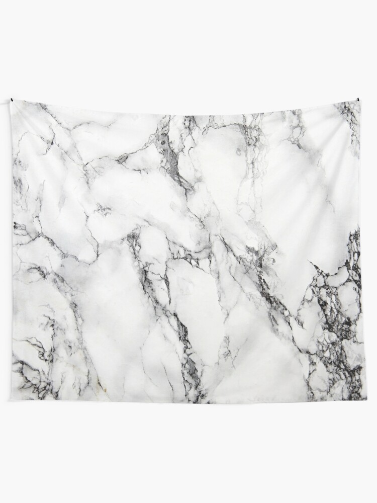Alternate view of White Marble  Tapestry