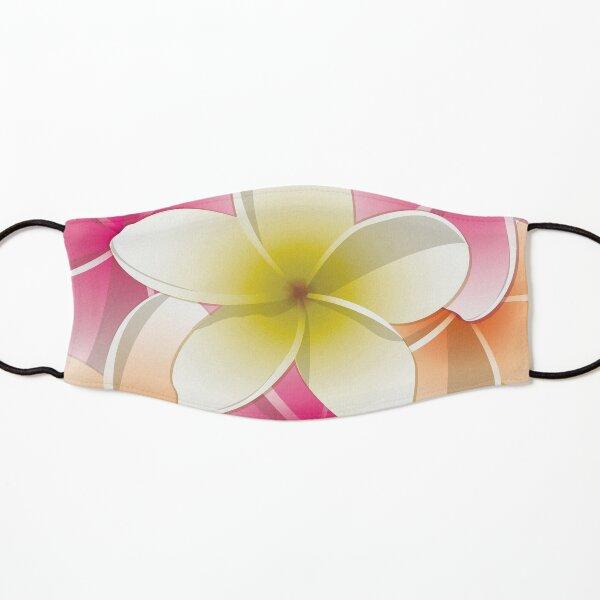 Bright Frangipani/ Plumeria flowers Kids Mask