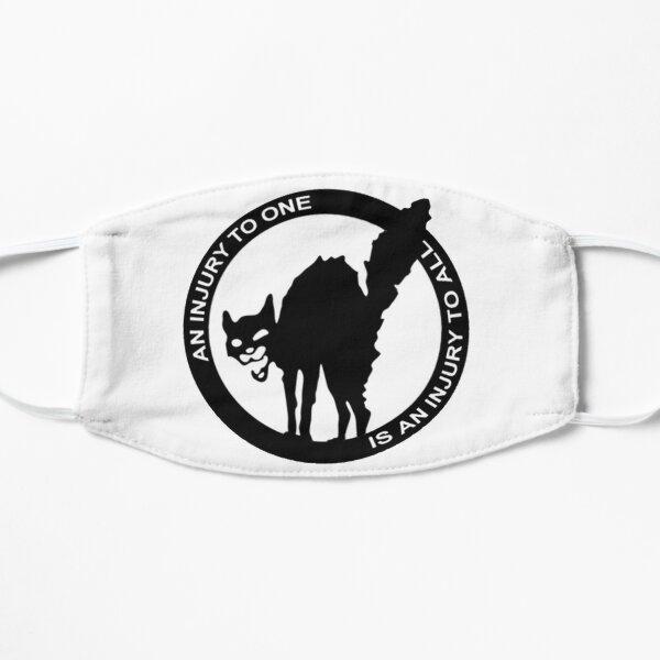 Una lesión para uno es una lesión para todos - Logo anarcosindicalista Mascarilla