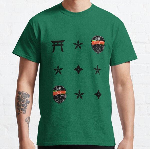 TMNT Raphael - Patterned Classic T-Shirt