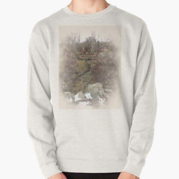 Watercolor River Pullover Sweatshirt