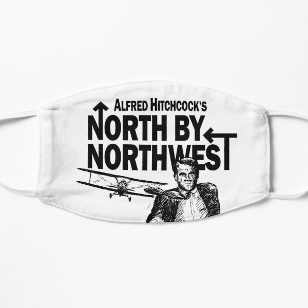 Alfred Hitchcock's North by Northwest by Burro! Mask