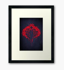 Cobra for Life Framed Print