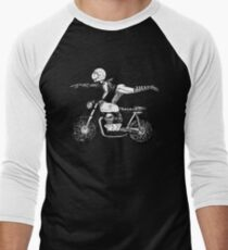 Women Who Ride - Superwoman Baseball ¾ Sleeve T-Shirt