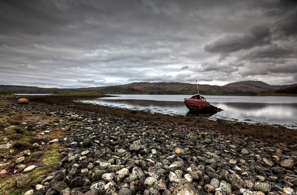 Shipwrecked on Loch Etive by Roddy Atkinson