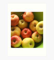 Ten Apples (still life) Art Print