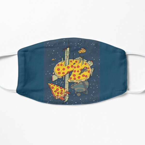 Pizza Space Station Mask