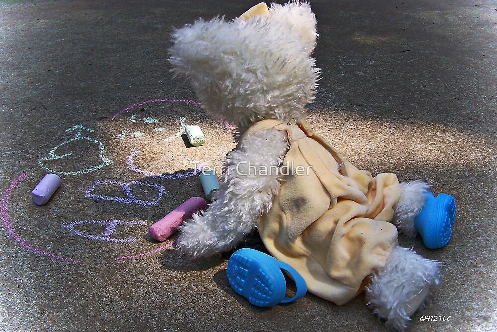Winnie's Chalk Drawings by Terri Chandler