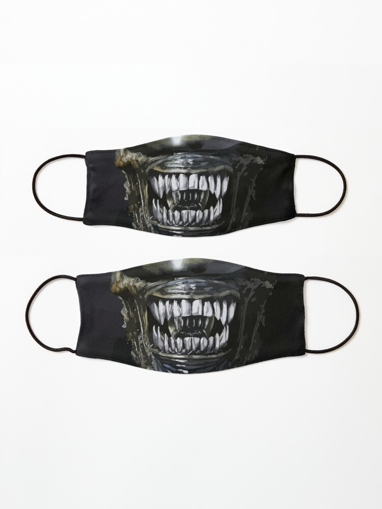 Alternate view of Alien Mouth 2 Mask