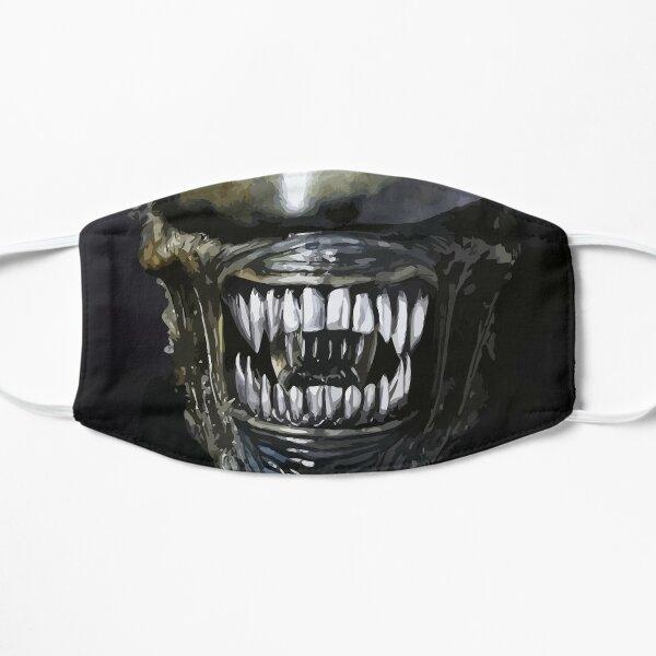 Alien Mouth 2 Flat Mask