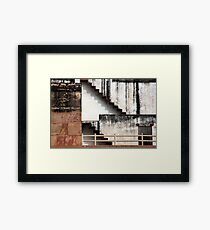 Agra Fort Shapes And patterns Framed Print