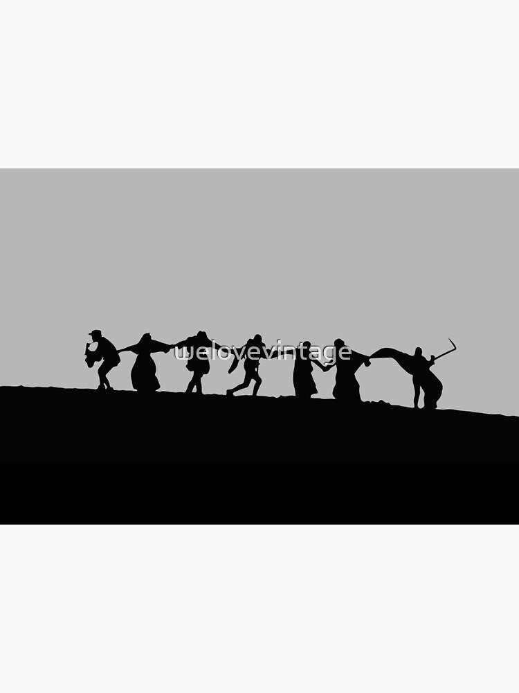 Ingmar Bergman´s Seventh Seal de welovevintage