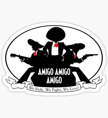 Charlie's Amigos  Sticker