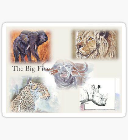 Lodge décor - The Big Five Sticker