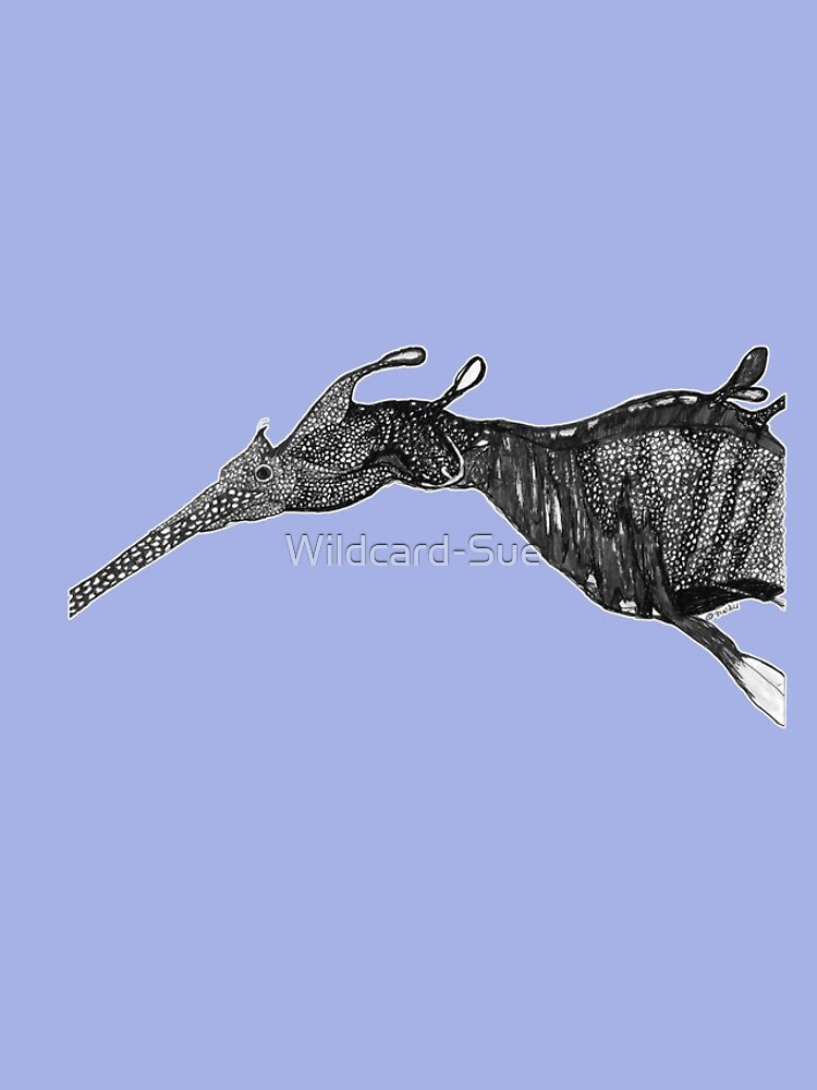 Barbara the Weedy Sea Dragon by Wildcard-Sue