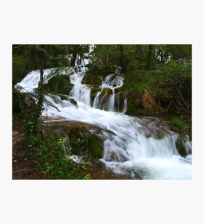 Water Staircase Photographic Print