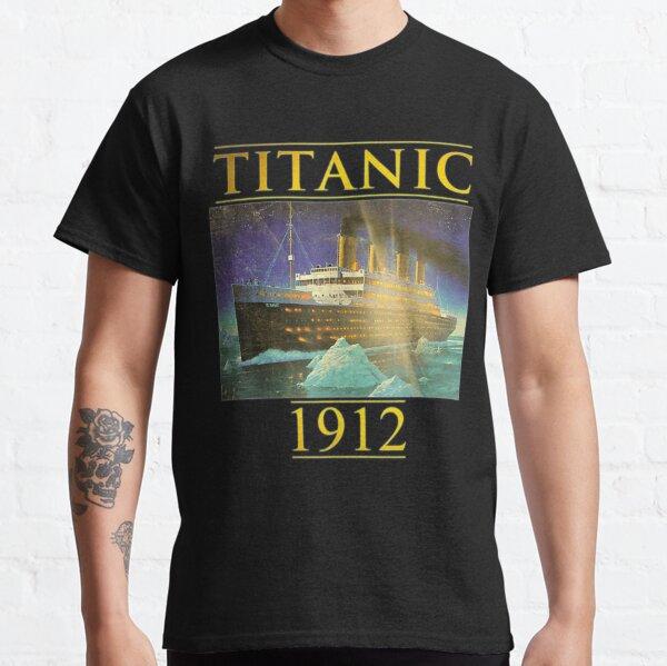 Titanic Sailing Ship Vintage Cruis Vessel 1912 gift Classic T-Shirt