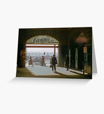 Canns Flinders Street Station 19570103 0036 Greeting Card