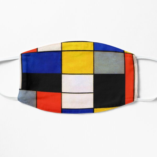 Modern Art Piet Mondrian Composition A  Mask