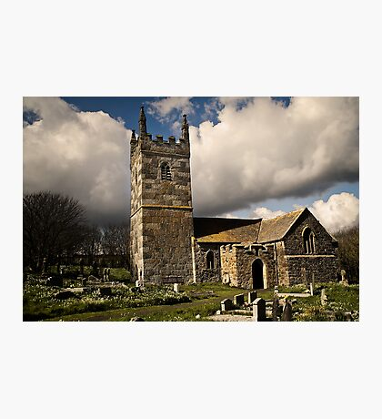 St. Wynwallow Church Photographic Print