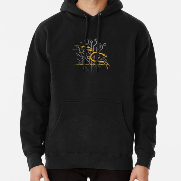 Backtrack Kali Linux with Dragon and Tagline - Orang Pullover Hoodie