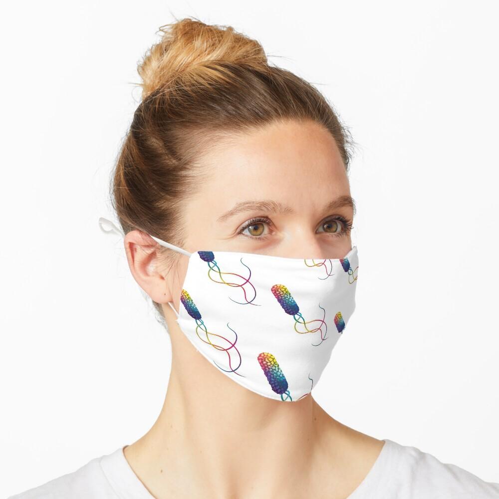 Rainbow bacterium Mask