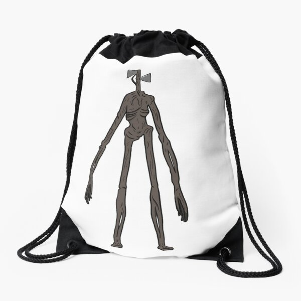 Siren Head Drawstring Bag