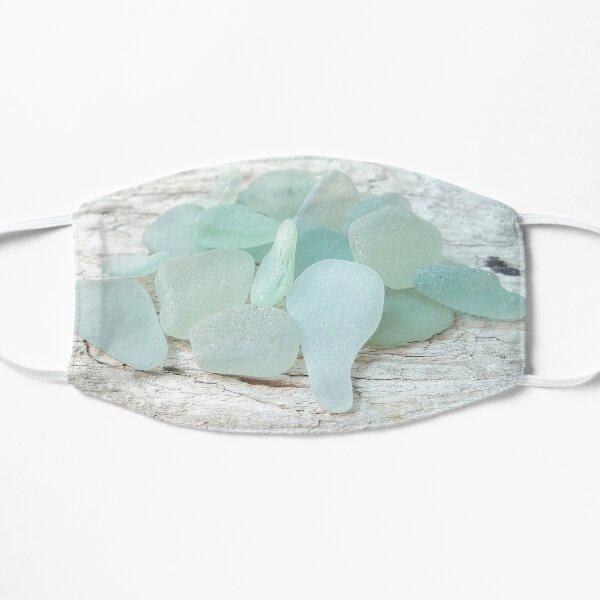 Sea Foam Sea Glass Bright and Pale Mask
