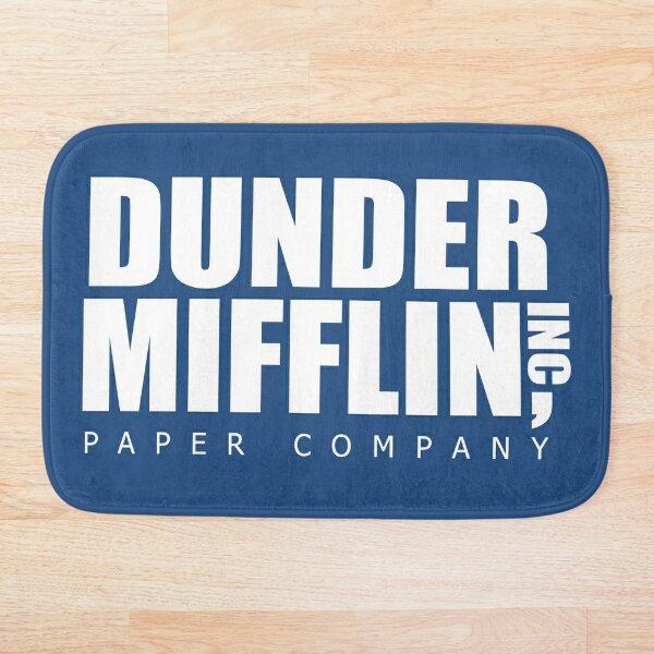 Dunder Mifflin Paper Company The Office Bath Mat