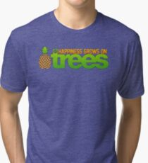 Happiness Grows On /r/trees Tri-blend T-Shirt