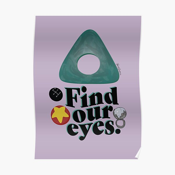 Find Our Eyes Poster