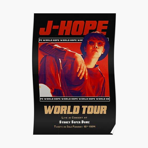 HOPE WORLD Tour Poster [HANGSANG] Poster