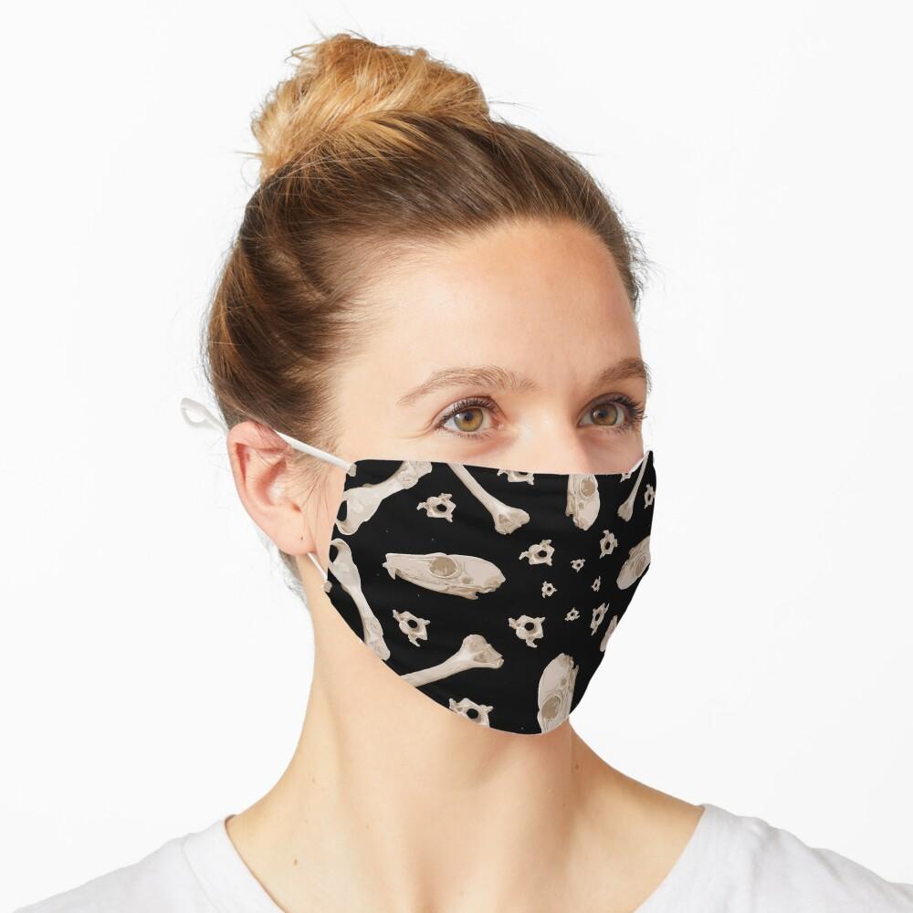 Ruffed Lemur bones Mask