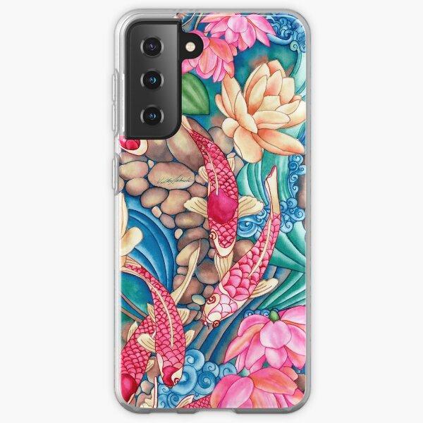 Koi Pond Samsung Galaxy Soft Case
