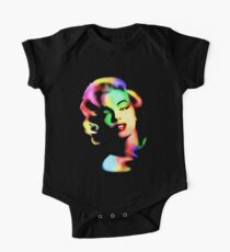 Marilyn Monroe Rainbow Colors  One Piece - Short Sleeve