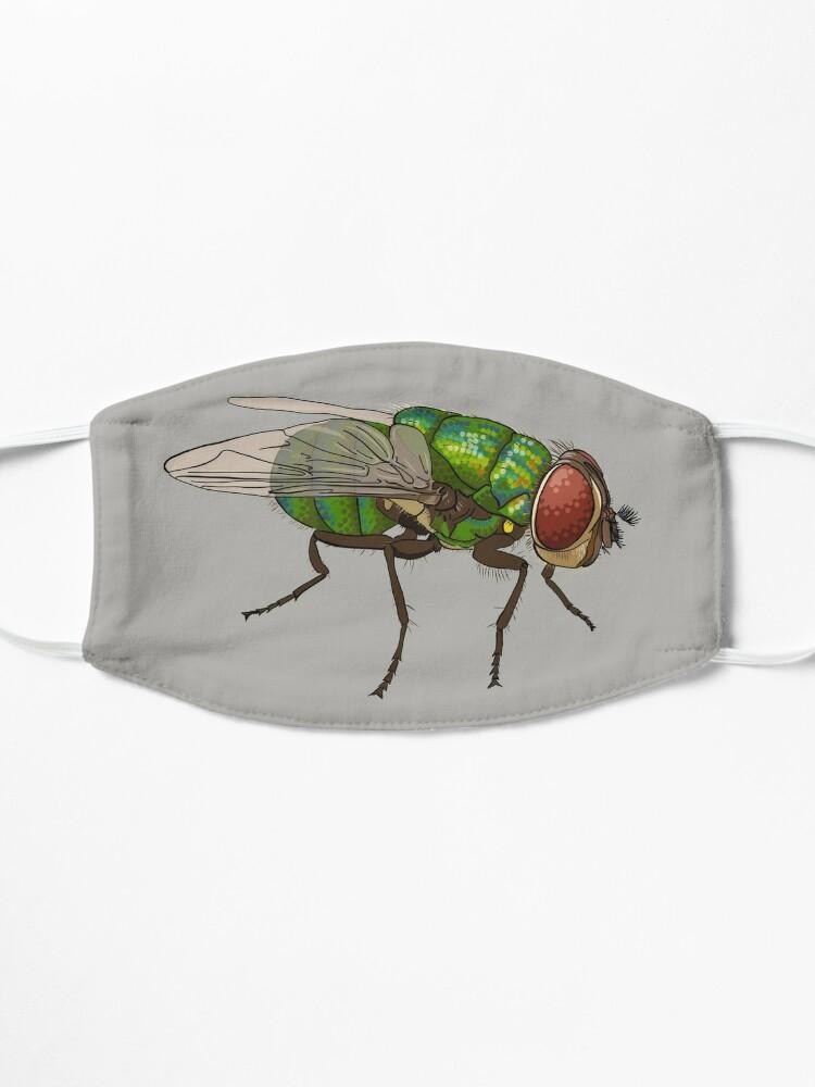 Alternate view of Chrysomya megacephala blowfly Mask